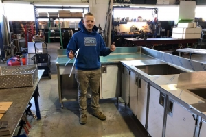 Stainless Steel Commercial Sink (2)