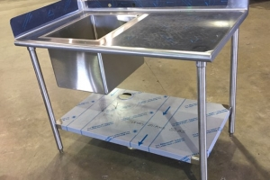 Stainless Steel Commercial Sink (3)